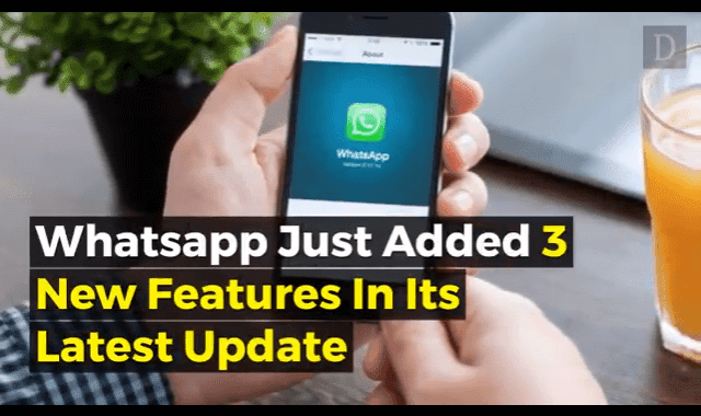 WhatsApp rolls out new features for iOS and Android phones