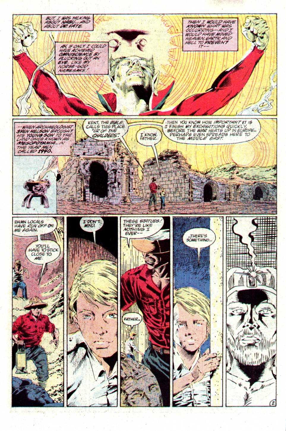 Read online Secret Origins (1986) comic -  Issue #24 - 22