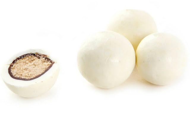 White Chocolate Malted Milk Balls