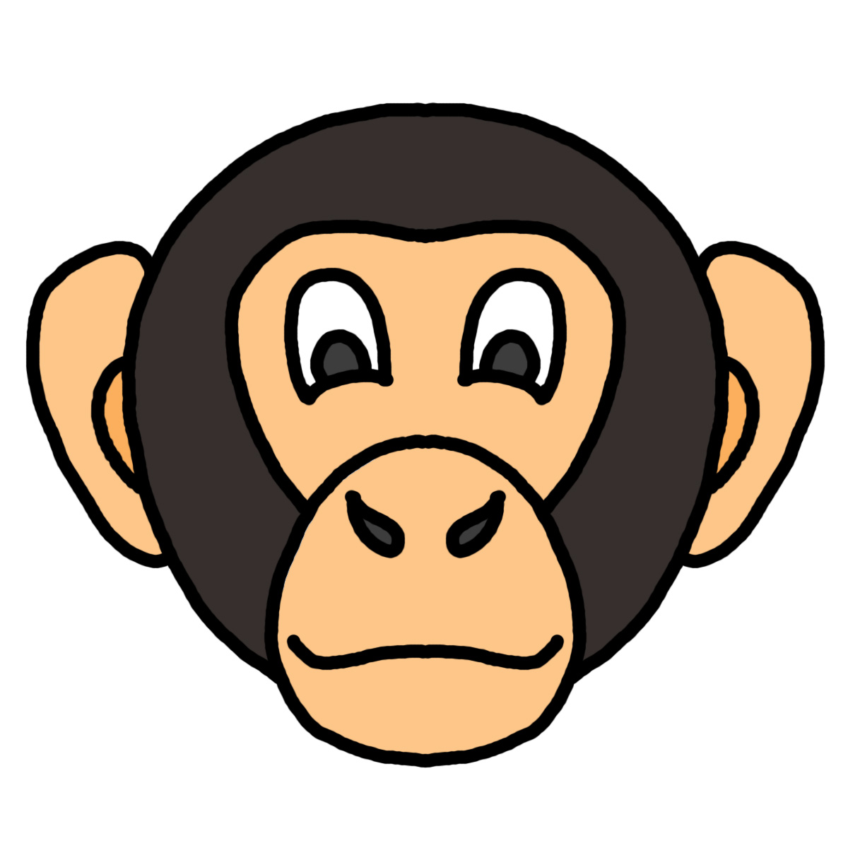 Animasi Kartun Orangutan