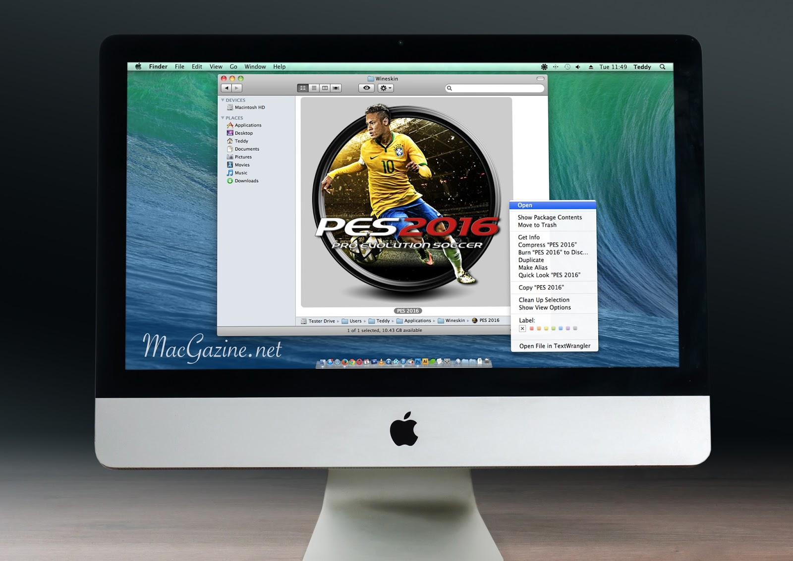 How To Installing PES 2016 on Mac OS X With Wineskin Winery