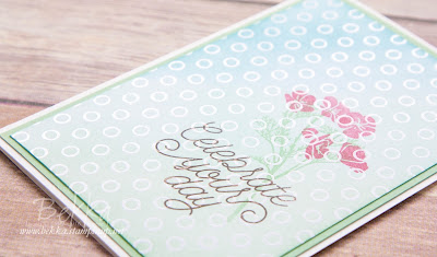 Pretty Wild About Flowers Birthday Card Made Using Stampin' Up! UK Supplies - Buy Stampin' Up! UK Here