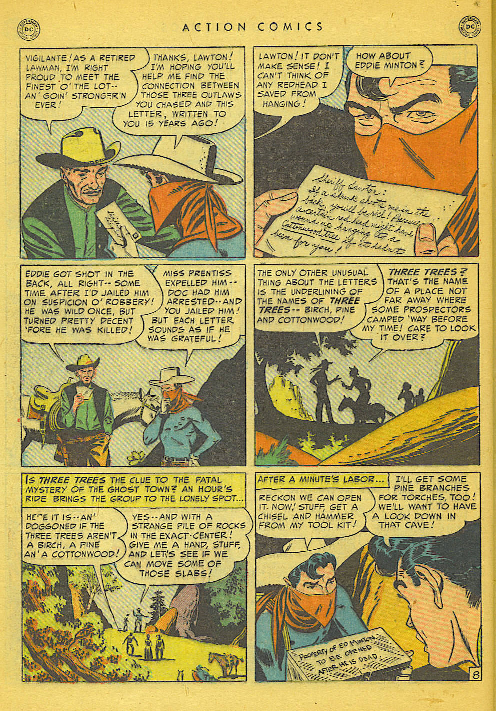 Action Comics (1938) 153 Page 37