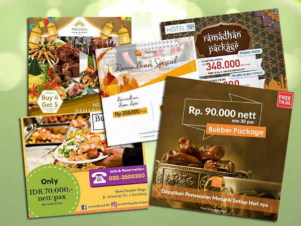 Harga Paket Buka Puasa Bersama Hotel-Hotel di Bandung