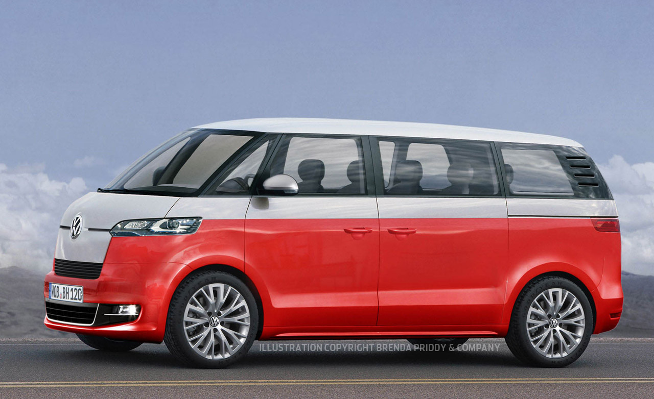 2014 Volkswagen Microbus Come Outs - Buy Classic Volks