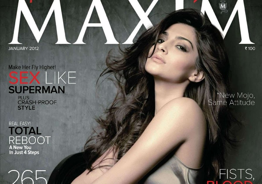 Bollywood Actresses In Maxim: WoW Celeb WoW: Sonam Kapoor Photoshoot For Maxim Magazine