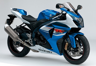 New Suzuki GSX-R1000 Side view Sport bike