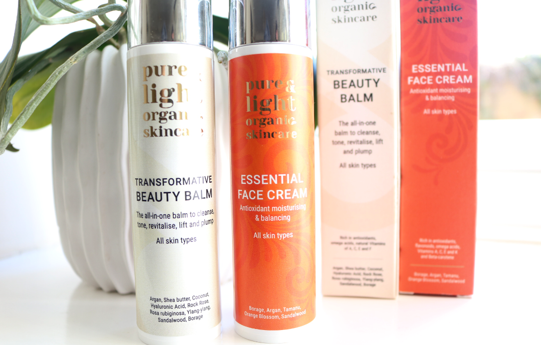 Pure & Light Organic Skincare - Transformative Beauty Balm & Essential Face Cream review
