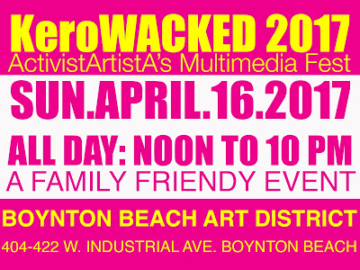 Free Tickets to The 6th Annual KeroWACKED Multimedia Fest at BBAD