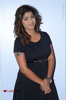 Tollywood Actress Geethanjali Thasya Latest Pos in Black Short Dress at Nanna Nenu Na Boyfriends Audio Launch  0002.JPG