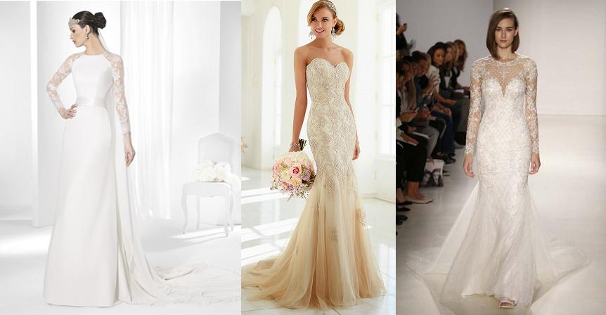 vestidos de novia para cuerpo reloj de arena