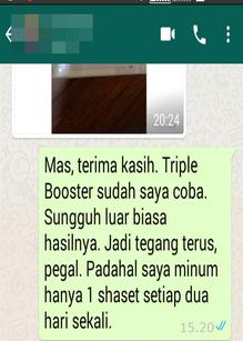 Testimonial Obat Kuat Herbal Manjur TripleBooster
