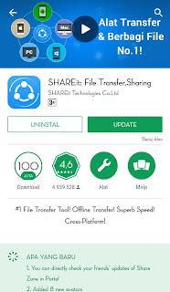 mengirim file ke perangkat lain tanpa menunggu lama aplikasi ini bisa membantu anda dengan kecepatan transfer lebih dibandingkan mengirim file via Bluetooth.