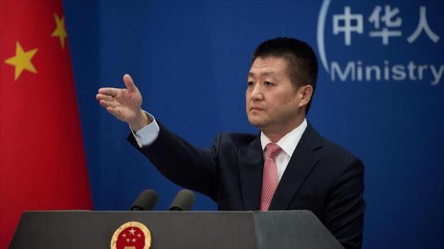 China expresa preocupación por palabras 'irresponsables' de Trump