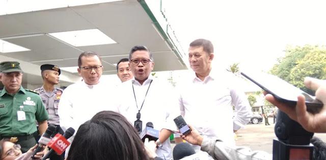 Minus Golkar, Sekjen Partai Pendukung Jokowi Kumpul Di RSPAD