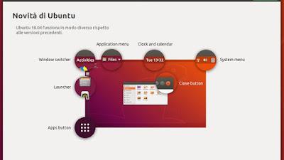 Ubuntu 18.04 LTS: Il wizard che appare al primo avvio
