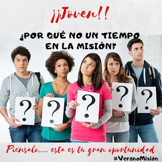 OMP España, Verano misión, voluntariado misionero, voluntariado, jóvenes