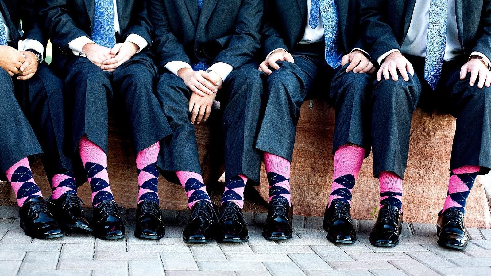4da380dfa66 Men Pink Socks - Sock Choices