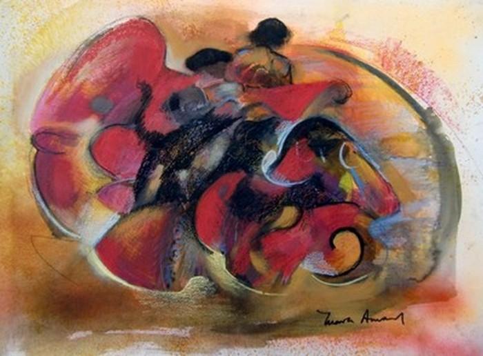 Танцы в картинах. Maria Amaral 21