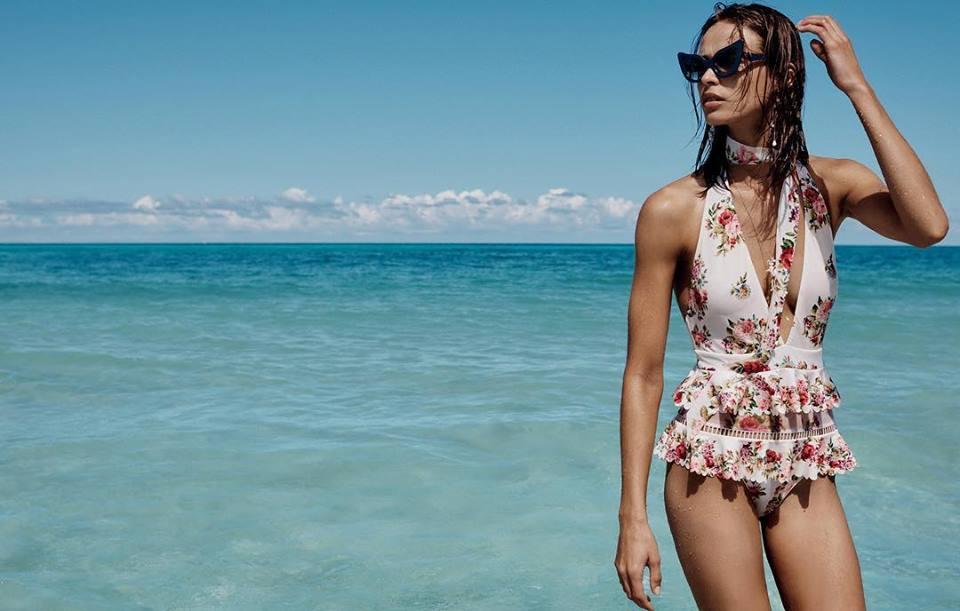 Zimmermann Swimwear Spring 2019 Ad Campaign