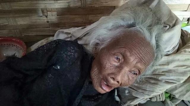 Tinggal Sekandang Dengan Ayam, Nenek Renta Ini Bikin Netizen Menangis