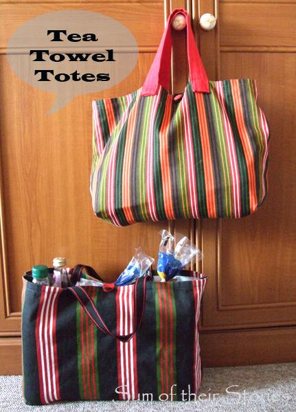 Tea Towel Tote