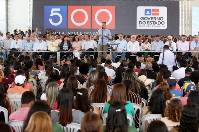 Chapada: Rui celebra 500 viagens ao interior com entregas em Morro do Chapéu