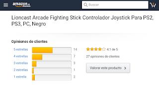 Lioncast Arcade Fighting Stick Opiniones