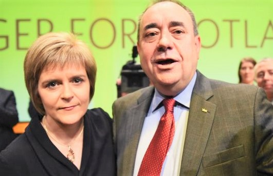 Alex Salmond Resigned