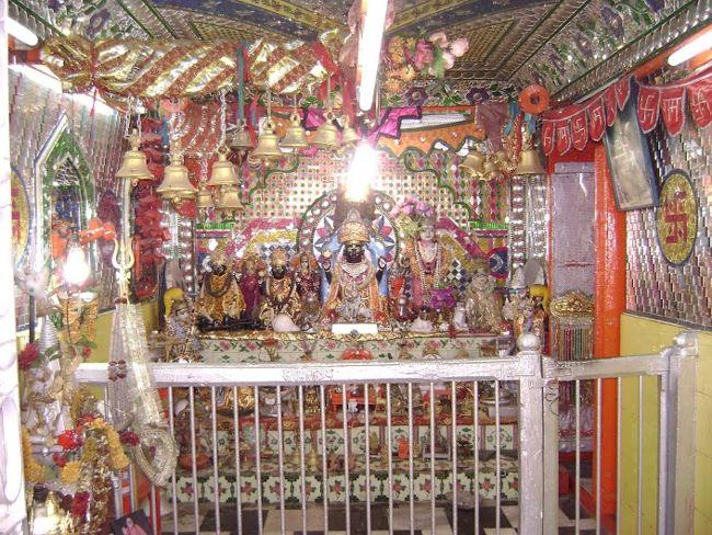 Sri Badrinarayan Temple Inside