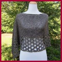 Poncho elegante a crochet