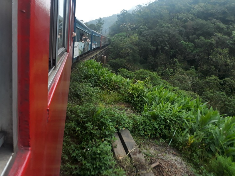 Trem Morretes a Curitiba
