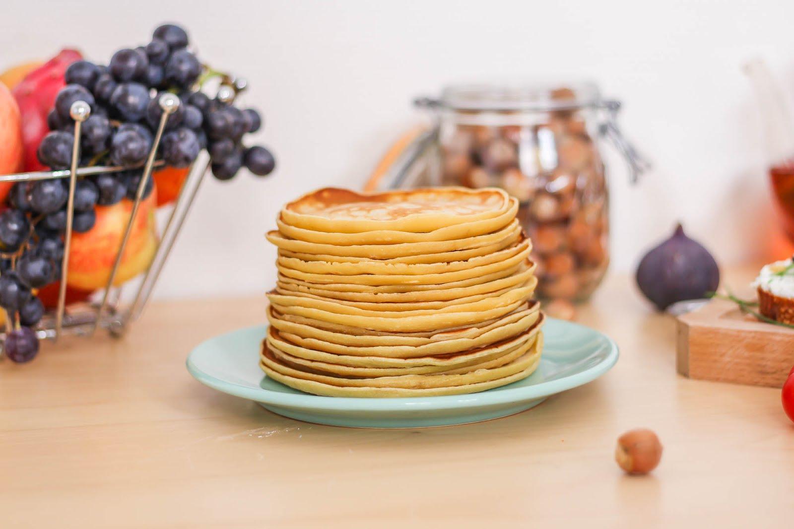 Pile de pancakes