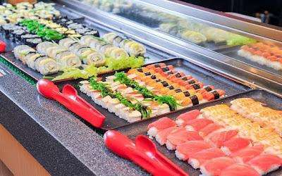 Seoul Garden Buffet Sushi Selection