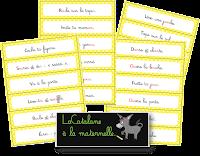 Tickets d'ordres Montessori (LaCatalane)