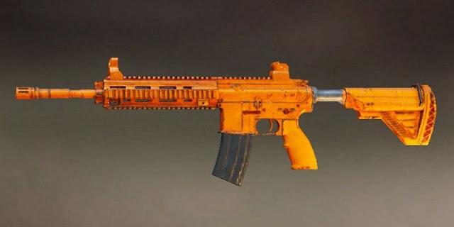 PUBG Mobile: M416 turuncu renkli silah kaplamasını bedava Alın!