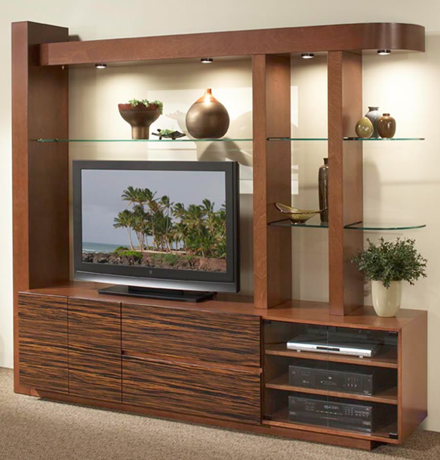 Living Area Cabinet Design: 22 Tv Stands With Storage Cabinet Design Ideas