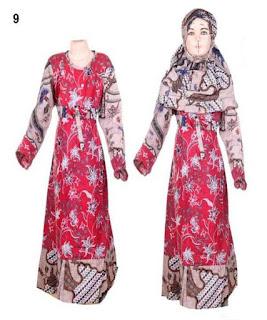 baju batik anak muslim