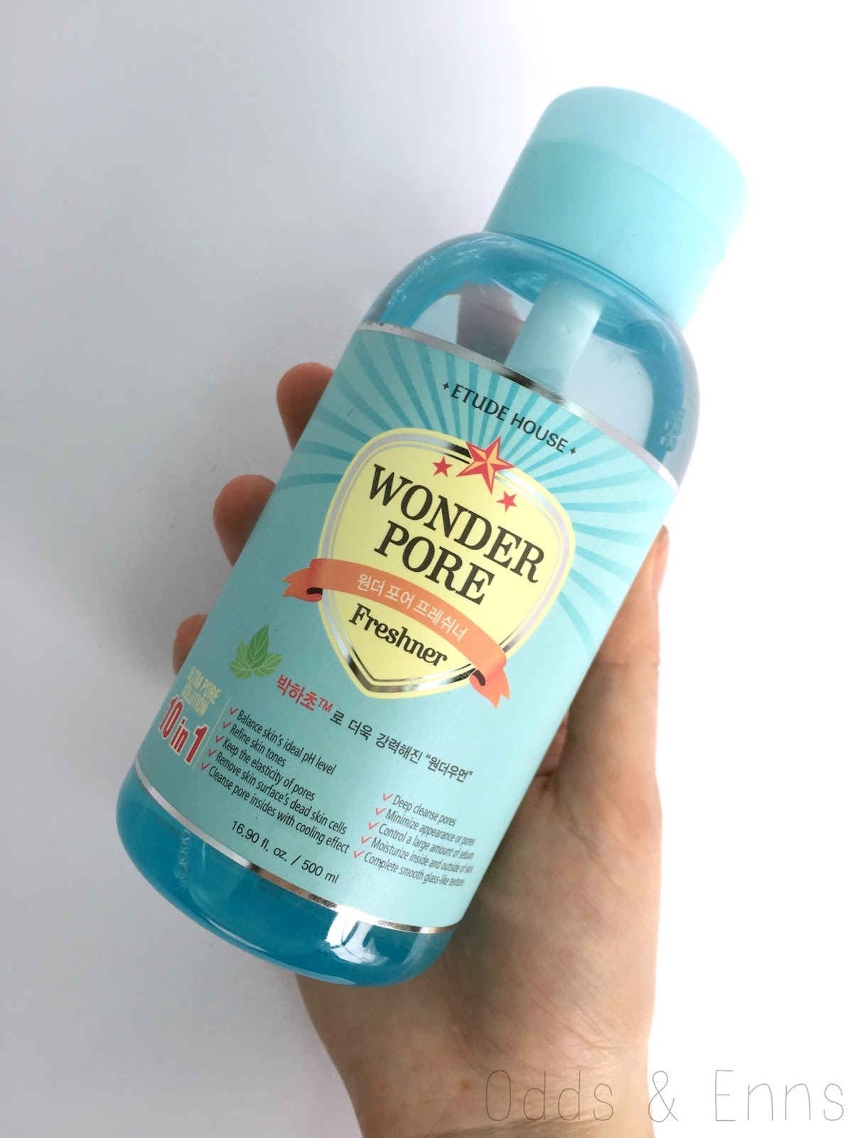 Etude House Wonder Pore Freshener Review