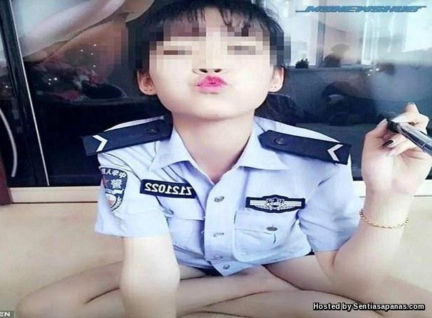 Polis+Selfie+Berahi