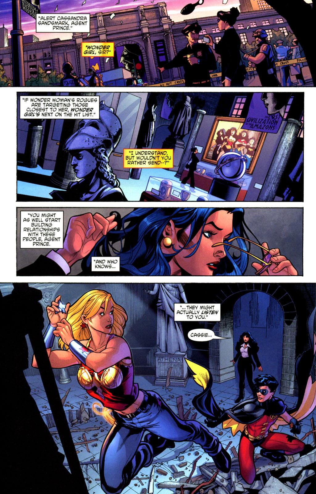 Read online Wonder Woman (2006) comic -  Issue #2 - 10