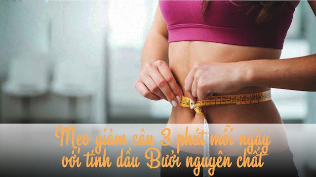 Mẹo giảm cân 3 phút mỗi ngày cho những cô nàng thừa mỡ bụng