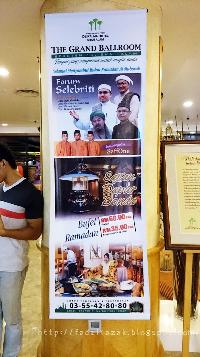 Bufet Ramadhan Paling Rare Aku Pernah Jumpa