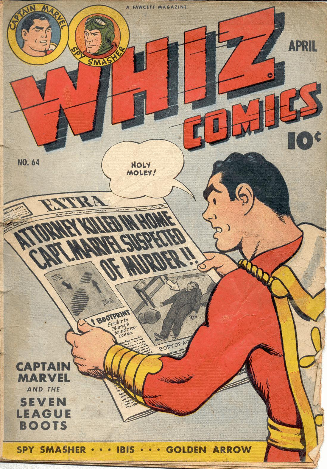 WHIZ Comics 64 Page 1