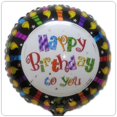Balon Foil Happy Birthday To You