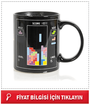 Tetris Magic Mug - Tetris Sihirli Kupa