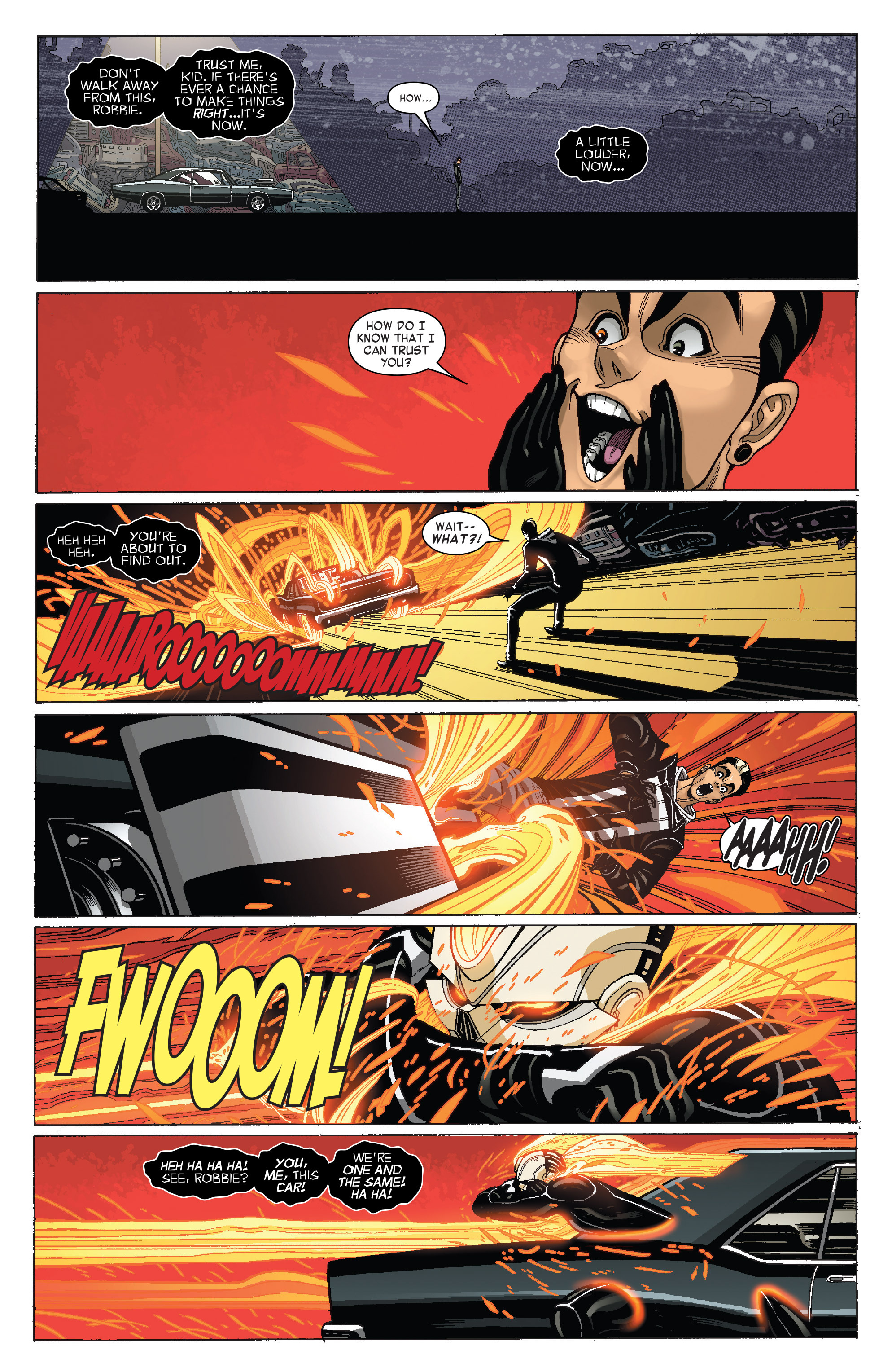 Read online All-New Ghost Rider comic -  Issue #3 - 5