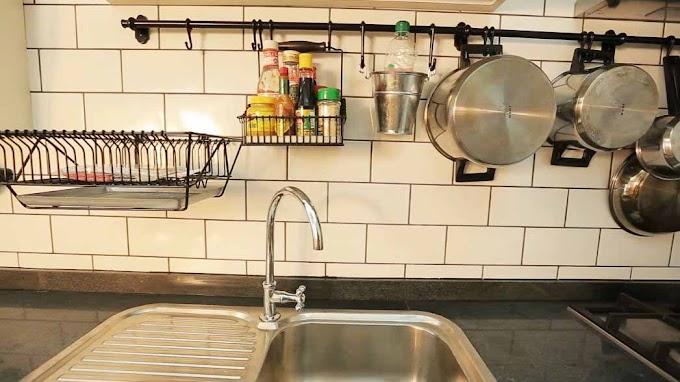 10 Cara Mengatur Peralatan Dapur Dengan Ruang Kecil