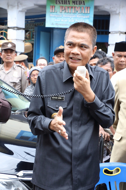 Bupati Asahan Taufan Gama Simatupang