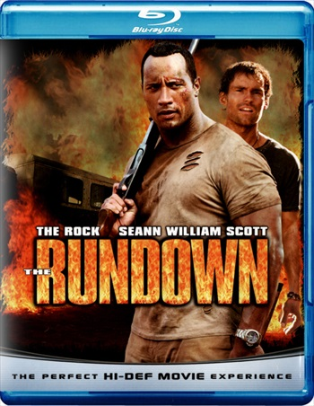 Poster Of Hollywood Movie The Rundown 2003 Hindi Dual Audio 300mb Compressed Small Size Pc Movie Free Download world4freein.com